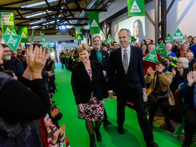 Bob Brown and Christine Milne