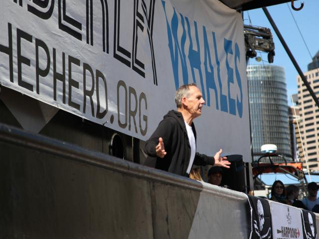 Bob Brown - Sydney Rally: Save the Kimberley - Photo Kate Ausburn via Flickr