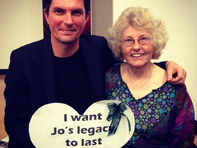 Jo Vallentine and Scott Ludlam